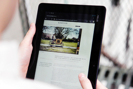 How Tablets Are Powering The Future Of Storytelling | Creative Tools... and ESL | Scoop.it