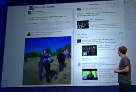 Facebook vai mudar de visual e pode lançar múltiplos feeds de notícias | scooping the world | Scoop.it