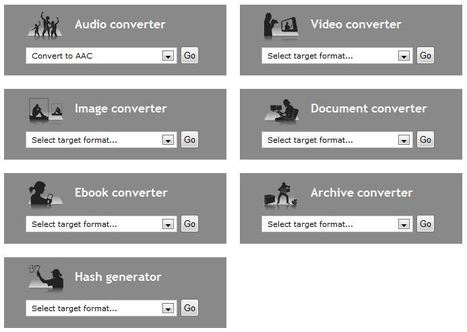 Online converter - convert video, images, audio and documents for free | elearning stuff | Scoop.it
