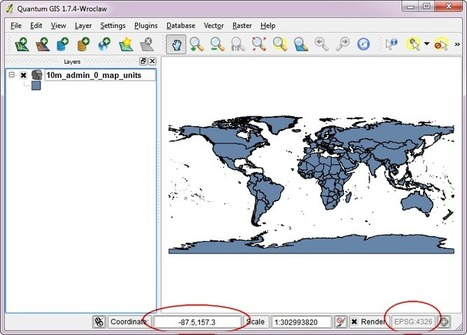 Quantum GIS (QGIS) Tutorials: Tutorial: Working with Projections in QGIS | Remote Sensing News | Scoop.it