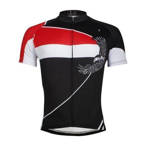f98ec4125 ILPALADINO Men s MTB Cycling Jersey Riding Short Sleeve Simple Style B –