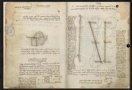 Leonardo - Códices de Madrid | Des liens en Hist-Géo | Scoop.it
