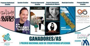 Nota de prensa. I Premio Nacional AEDI de Creatividad Aplicada | Cosas de mi Tierra | Scoop.it