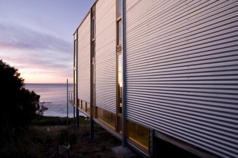 Tasmanian Beach House: Sustainable shipping container-style architecture   sustainable architecture   Scoop.it