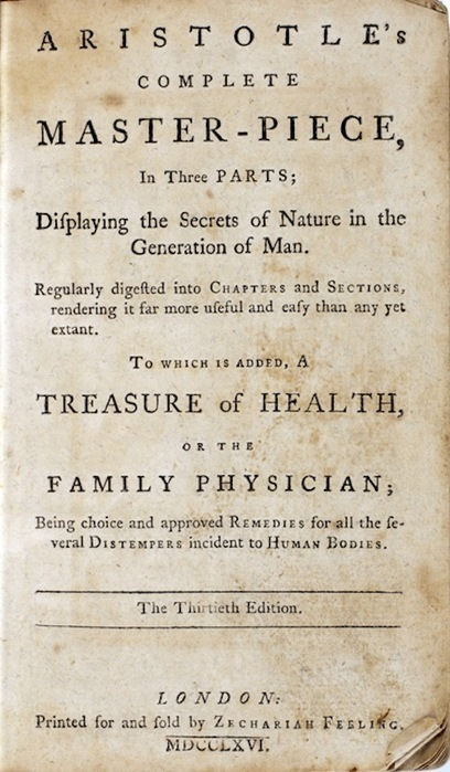 The First Sex Manual Published in North America, 1766 | Open Culture | Sociology - Class, Race, Gender, Oppression | Scoop.it