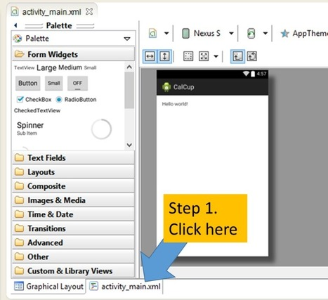 Build Your First Android App - Step 3: User Interface | Mobile App Development | Scoop.it