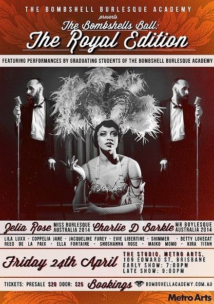 The Bombshell Burlesque Academy - Brisbane, Australia | Celebrating Fabulosity: Pinup to Burlesque! | Scoop.it