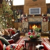 Exterior Home Decoration Tips for Christmas with Canvas Prints