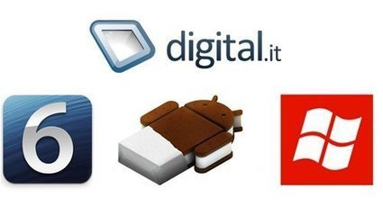 Confronto iOS 6, Android ICS e Windows Phone | Multimedia | Digital.it | Social media marketing News | Scoop.it