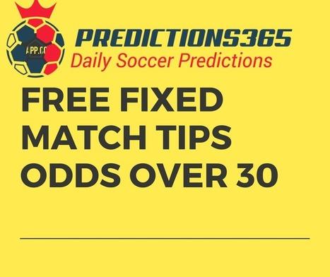 Free Fixed Match Odd 30 | Free Fixed Matches |