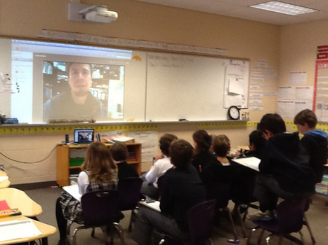Skype as an EASY method of connecting scientists and students   The 21st Century   Scoop.it