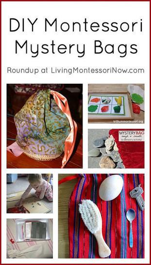 Montessori Monday – DIY Montessori Mystery Bags | Montessori Inspired | Scoop.it
