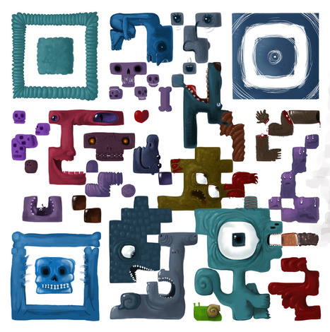 ...hunting the fnords... - cipherface: SCAN IT ! Creative QR code Drawing /... | artcode | Scoop.it
