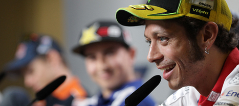 Rossi Talks Yamaha, Stoner Talks Rossi | Cycle News | Desmopro News | Scoop.it