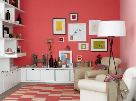 #Immobilier  Peinture : de la couleur sur les murs | Immobilier | Scoop.it