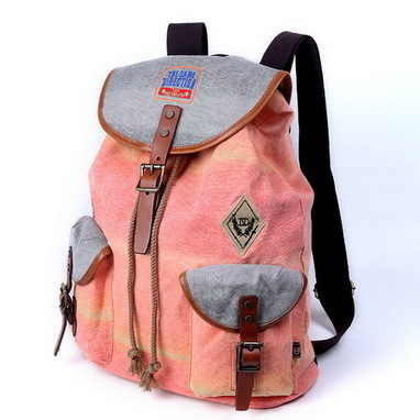 Best gradient orange backpack for girls leather and canvas - $126.90 : Notlie handbags, Original design messenger bags and backpack etc | personalized canvas messenger bags and backpack | Scoop.it