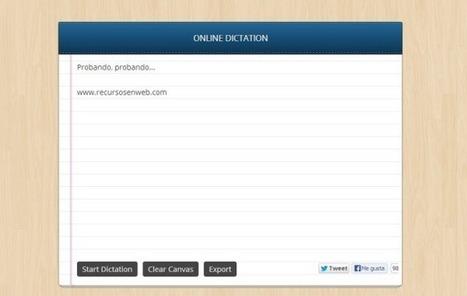 Dictation: dicta correos electrónicos y documentos en Chrome | Boletín Biblioteca Ciencias de la Educación. Universidad de Sevilla | Scoop.it