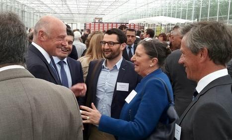 Les Paysans de Rougeline inaugurent l'écoserre de Lapouyade, projet soutenu par l'Union européenne | Fonds européens en Aquitaine Limousin Poitou-Charentes | Scoop.it