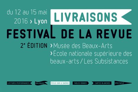 Livraisons. Festival de la revue 2016 - 2e édition | Romans régionaux BD Polars Histoire | Scoop.it