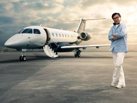 Check out Jackie Chan's new $20 million private jet | TRAVEL KEVELAIR | Scoop.it