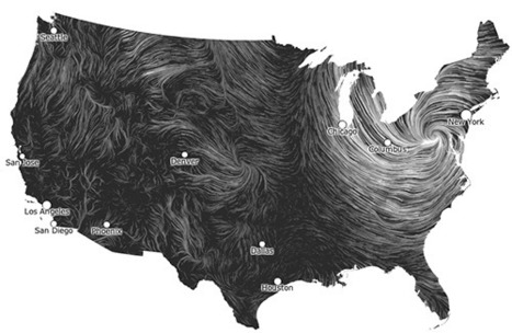 Living portrait of a storm – a live data visualization of Sandy | green infographics | Scoop.it