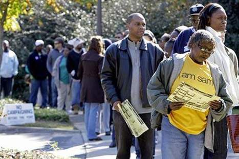 In a first, black voter turnout rate passes whites | Crap You Should Read | Scoop.it