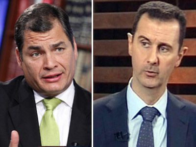 Ecuador may consider political asylum for Syria's Assad — RT | News & Politics | Scoop.it
