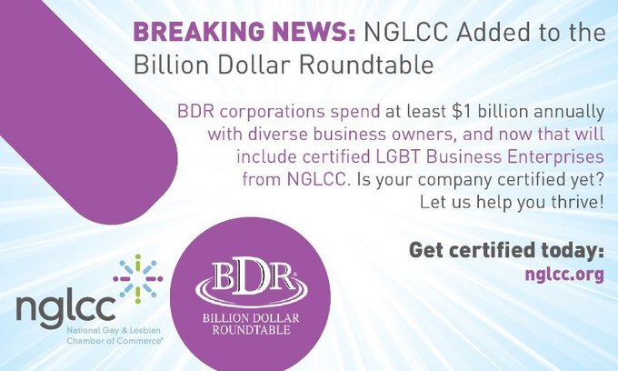'Billion Dollar Roundtable' Now Includes LGBT, Disability, And Veteran-Owned Businesses In Corporate Supply Chains