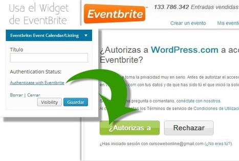 2 Plantillas WordPress.com + Widget para vender entradas de tus Eventos | Recursos Web Gratis | Scoop.it