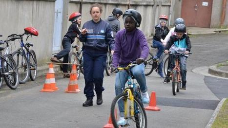 Vélo : 550 élèves ont appris à rouler en sécurité à Saint-Brieuc | RoBot cyclotourisme | Scoop.it