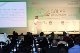 Dubai Supreme Council of Energy and DEWA organise Solar Decathlon Middle East with AED 10 million in prizes | solar decathlon europe 2014 VIA-UJI | Scoop.it