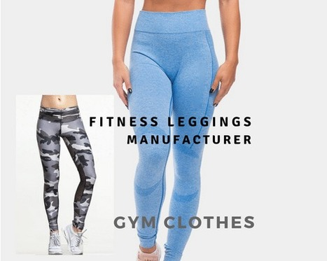 workout leggings manufacturer custom gym clothing manufacturers