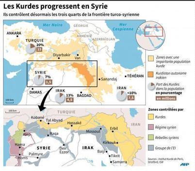 Les Kurdes de Syrie s'organisent en fédération | Géopoli | Scoop.it