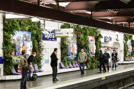 La station Opéra transformée en forêt amazonienne pour la sortie du film Rio 2 | streetmarketing | Scoop.it