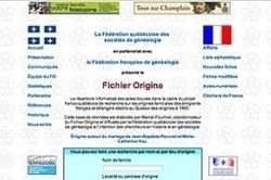 Québec : le fichier Origine fête ses 15 ans. | Genéalogie | Scoop.it