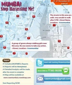 Mumbai – Stop HarassingMe!   #GoogleMaps   Scoop.it