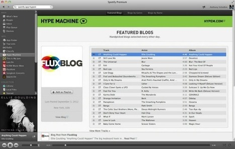 Hype Machine For Spotify Makes It Easy To Listen To Your Favorite Blogs | MUSIC:ENTER | Scoop.it