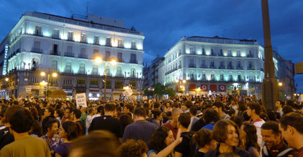 Spanish protest to build democracy, end corruption - Storyful | Human Rights & Freedoms News | Scoop.it