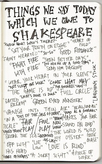 Things We Say Today And Owe To Shakespeare : NPR | British life and culture | Scoop.it
