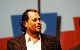 Salesforce CEO Bullish Benioff slams Oracle and IBM   Internet of Things - Technology focus   Scoop.it