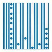 Modern Blue Stripes and Dots Shower Curtain> Polka Dotted Shower Curtains> Shower Curtains | Fashion to Delight You for Home and to Wear | Scoop.it