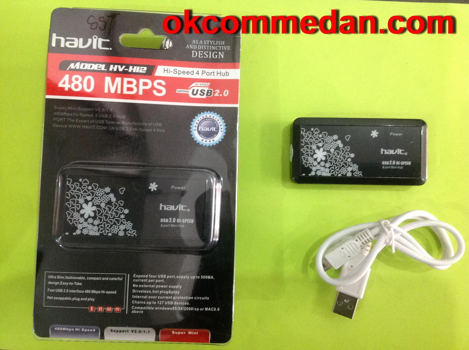 Havit Usb Hub 4 Port Hv H12 Toko Computer Onl Keyboard Toshiba Satellite L510 M500 M501 M502 M503 M505 M506 Hitam