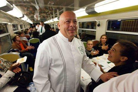 Thierry Marx fait diner les passagers du RER C | Emi__Ny | Scoop.it