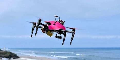 Le drone-sauveteur landais remporte le premier prix du concours Lépine | Drone | Scoop.it