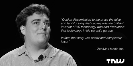 Oculus founder headed to court over allegations of stolen tech and bogus origin story | Virtual Worlds, Virtual Reality & Role Play | Scoop.it