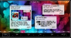 8 Excellent Free Timeline Creation Tools for Teachers | Social e-learning network | Scoop.it
