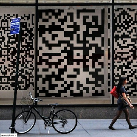 Inspiration QR code - Street Marketing | artcode | Scoop.it