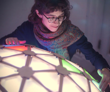 Interactive Geodesic LED Dome | Open Source Hardware News | Scoop.it