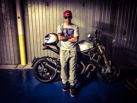 Lewis Hamilton via Twitter | Ductalk Ducati News | Scoop.it