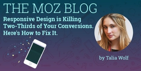 Responsive Design is Killing Two-Thirds of Your Conversions. Here's How to Fix It. | Website Pages Advice | Scoop.it